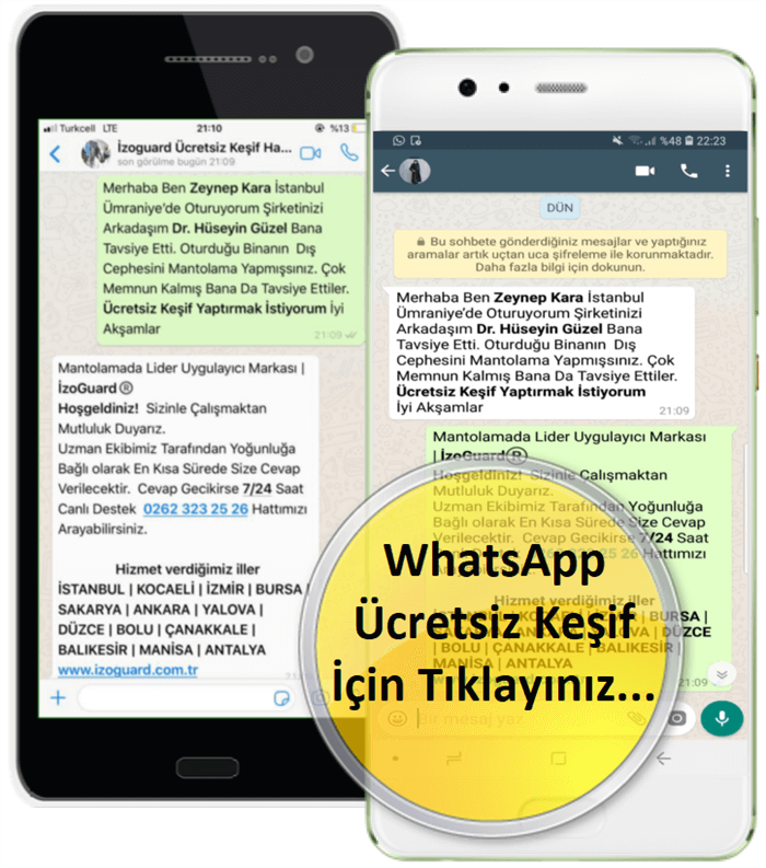 İzoGuard Whatsapp